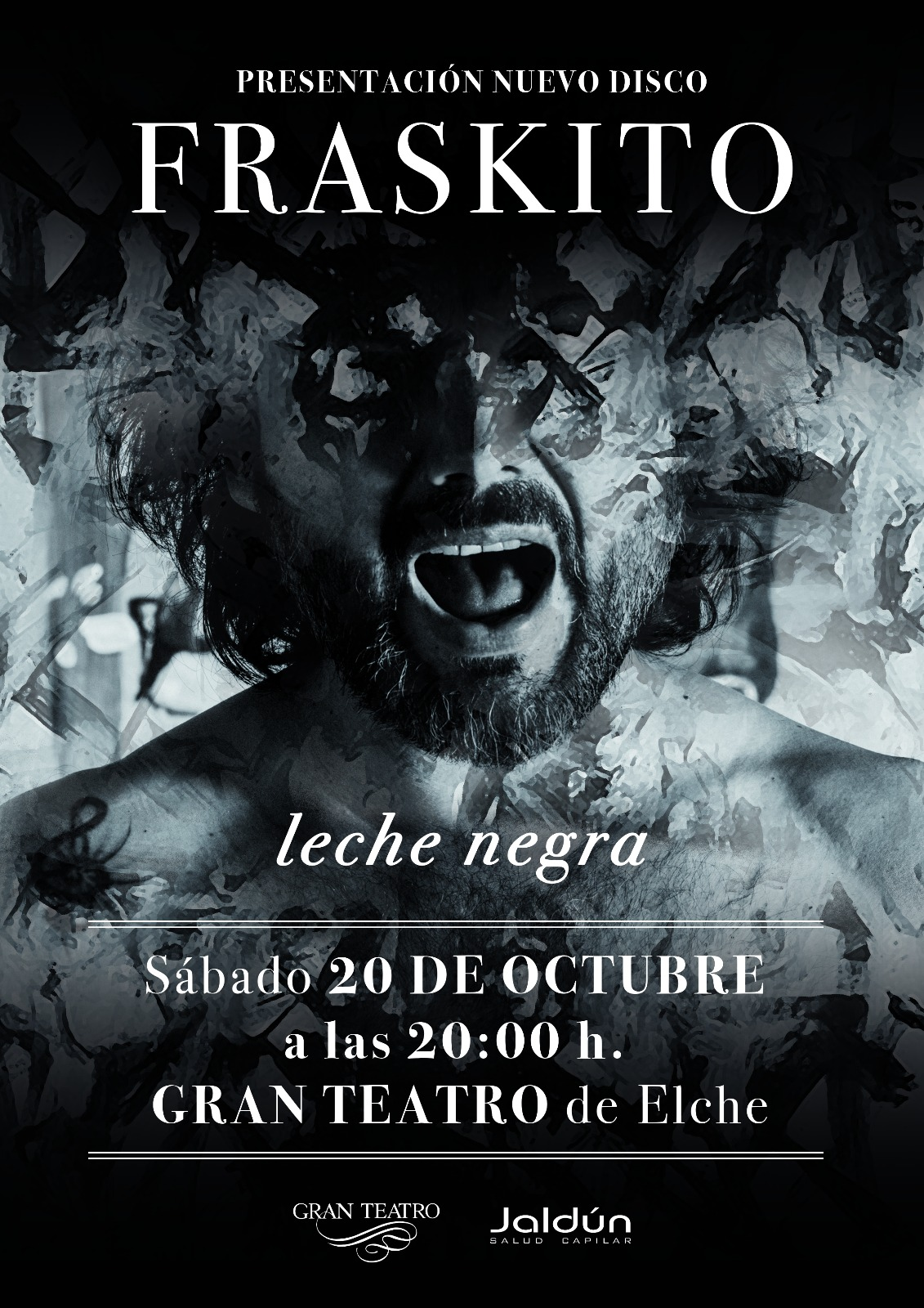 Poster Leche Negra Fraskito