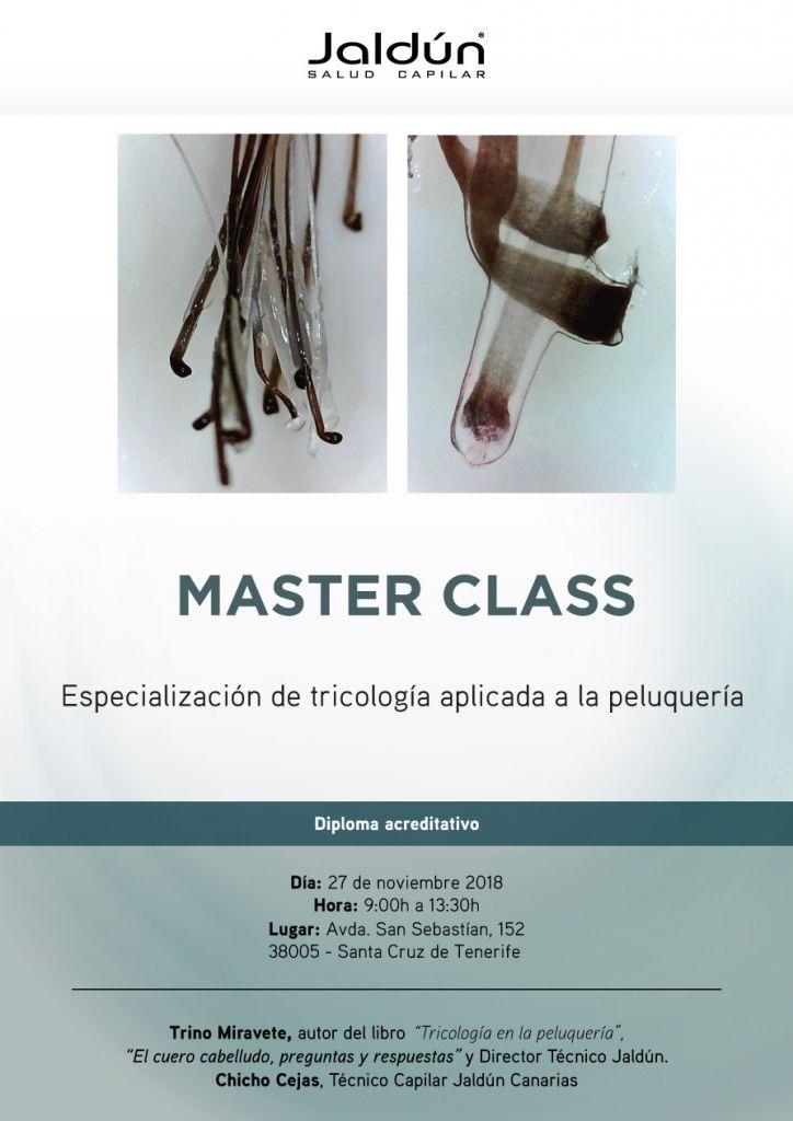 Masterclass Tricología Canarias Noviembre 2018